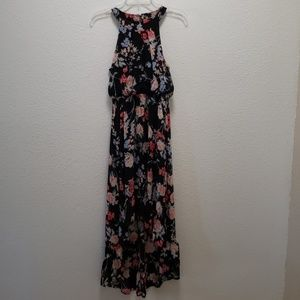 Elle high low maxi dress small